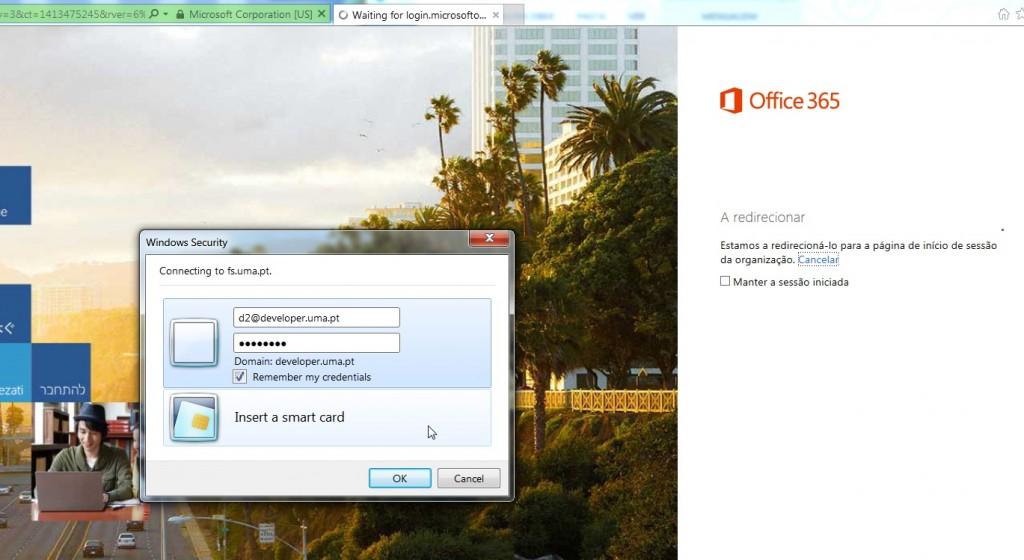 docs.uma.pt: autenticação passo 4 (internet explorer)